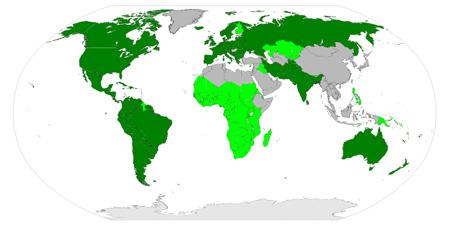 インドヨーロッパ語族の分布